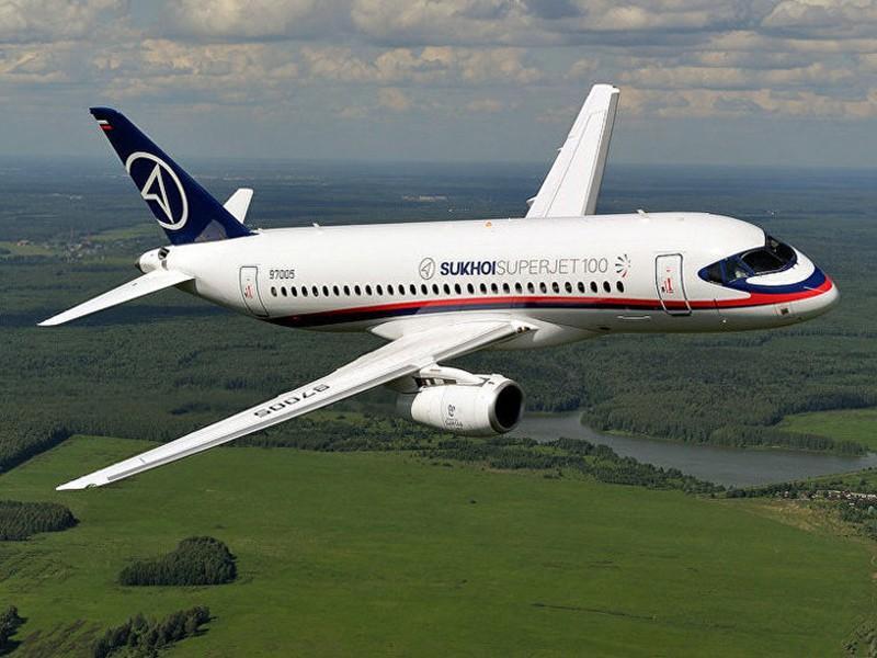Sukhoi Superjet 100-95LR